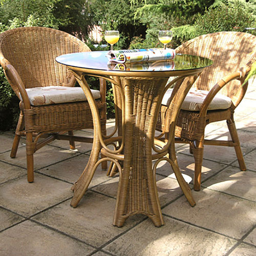 Cane Patio Breakfast Set
