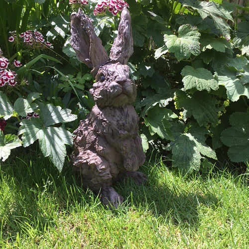 Large Resin Rabbit Garden Ornament