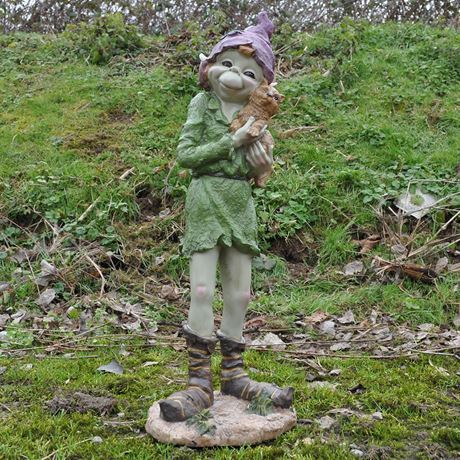 Mia Extra Large Resin Pixie Garden Sculpture