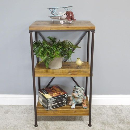 Modern Small Industrial Shelves