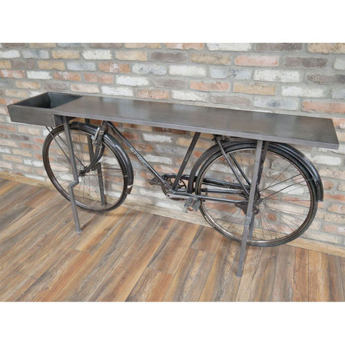 Retro Bicycle Display Table