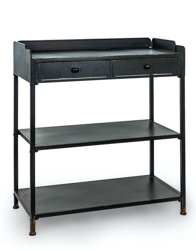 Verne Industrial Console Table