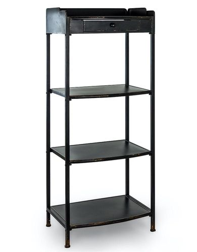 Verne Metal Tall Shelving Unit