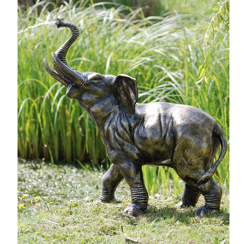 Small Elephant Garden Water Feature