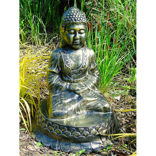 Praying Buddha Garden Sculpture