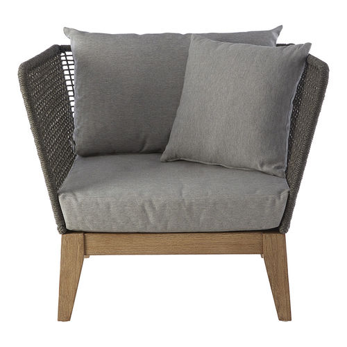 Nordic Style Grey Conservatory Armchair