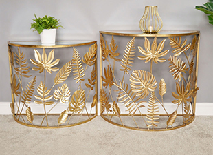 Half-moon-gold-leaf-end-tables