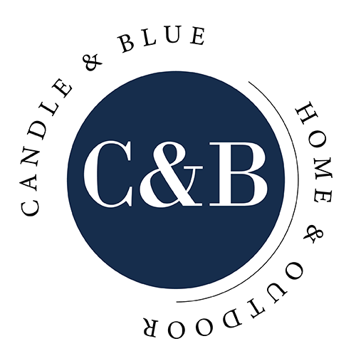 Candle and Blue Logo